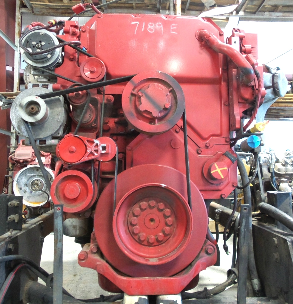 USED CUMMINS DIESEL ENGINE | CUMMINS ISX650 DIESEL ENGINE FOR SALE RV Chassis Parts