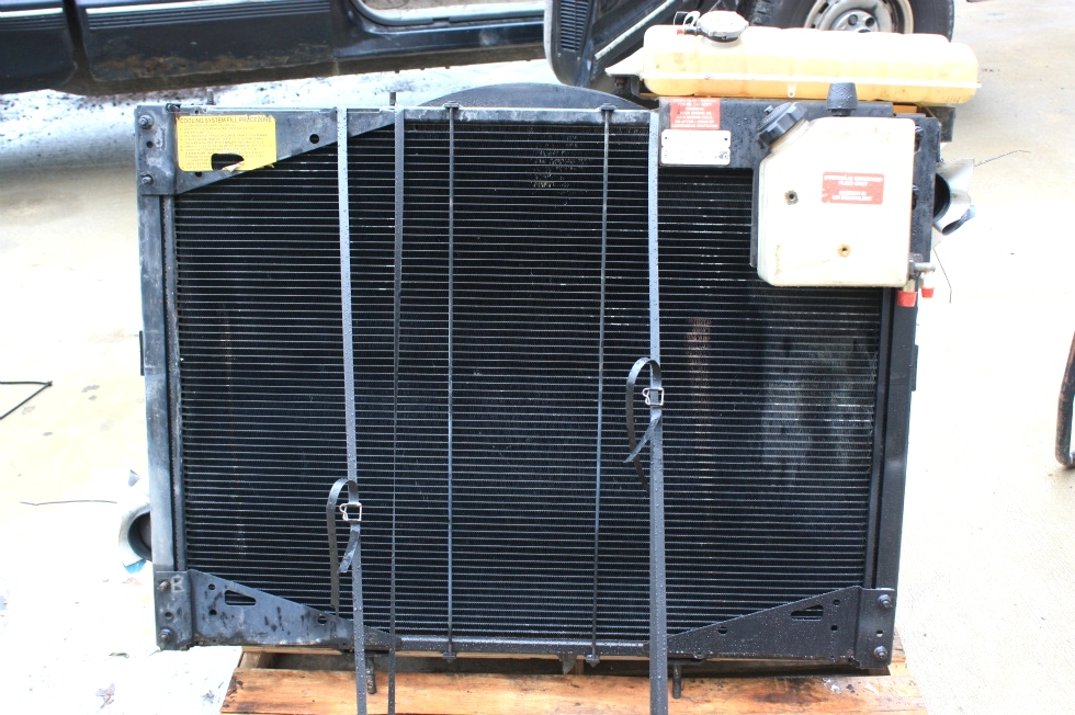 USED RV PARTS 2000 HOLIDAY RAMBER ENDEAVOR RADIATOR SYSTEM FOR SALE RV Chassis Parts