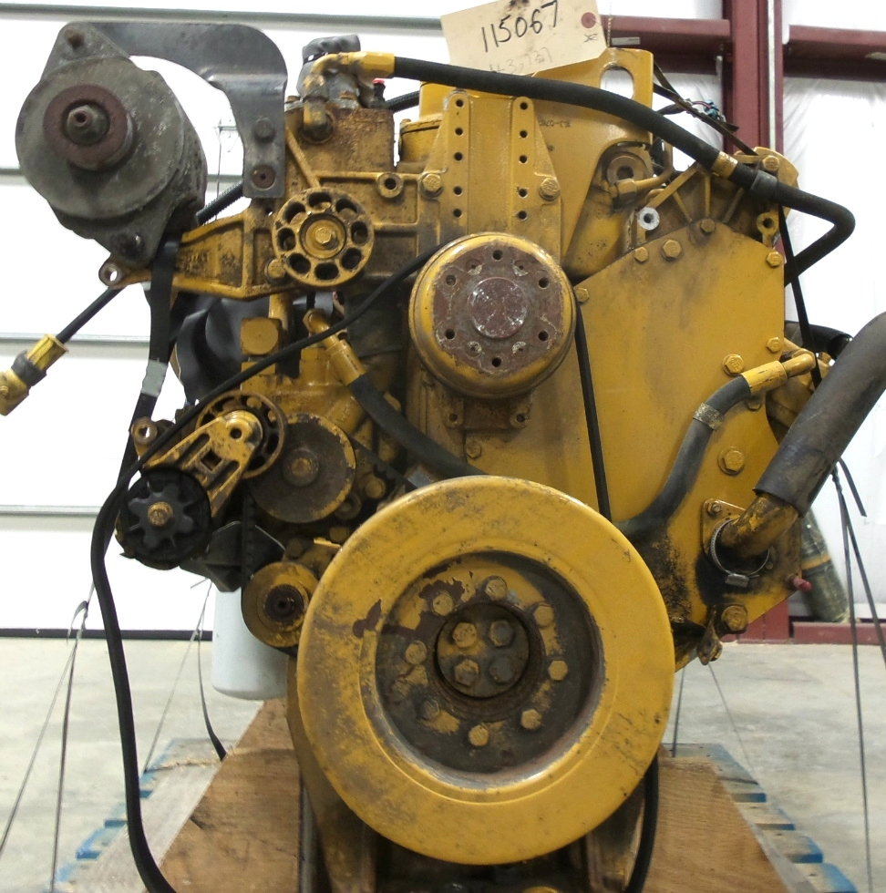 USED CATERPILLAR ENGINE | CAT 3126 7.2L YEAR 2003 330HP 43,737 MILES FOR SALE  RV Chassis Parts