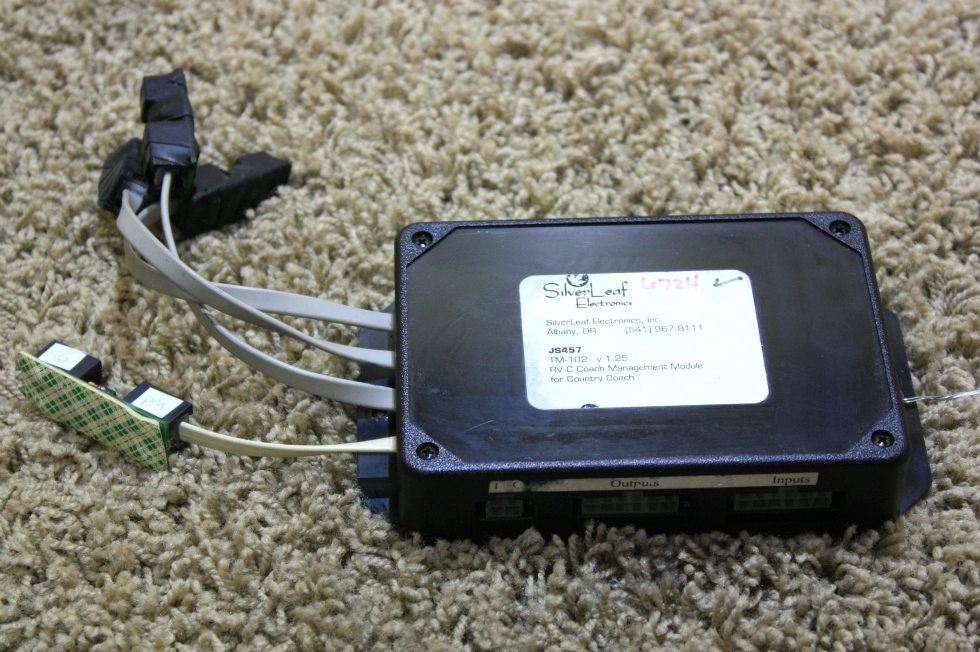 USED SILVERLEAF ELECTRONICS TM102 (JS457) RV PARTS FOR SALE RV Chassis Parts