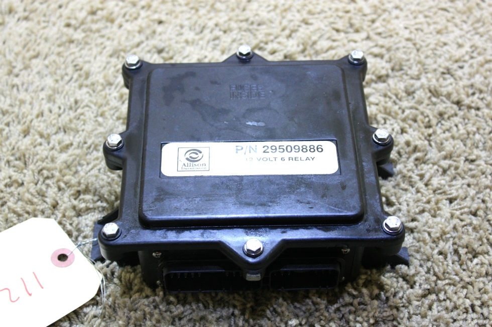 USED RV ALLISON TRANSMISSION 12 VOLT 6 RELAY 29509886 FOR SALE RV Chassis Parts