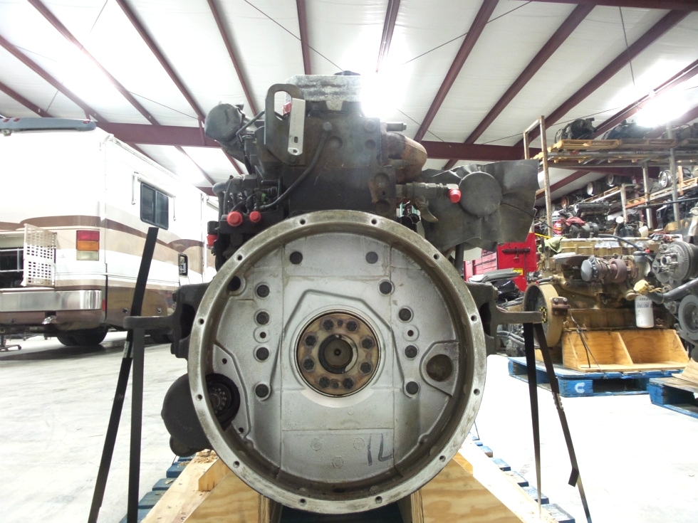 USED CUMMINS ENGINE FOR SALE   CUMMINS 8.3L ISC 350 2002 DIESEL ENGINE - LOW MILES  RV Chassis Parts