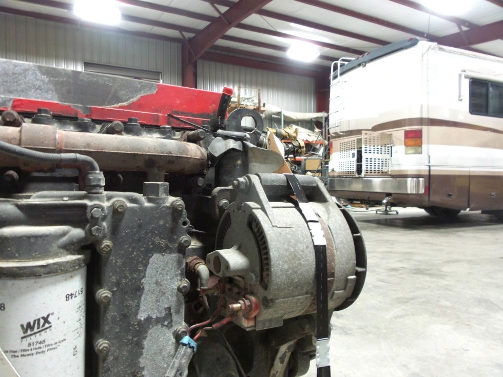 USED CUMMINS ENGINE FOR SALE | CUMMINS 8.3L ISC 350 2002 DIESEL ENGINE - LOW MILES  RV Chassis Parts