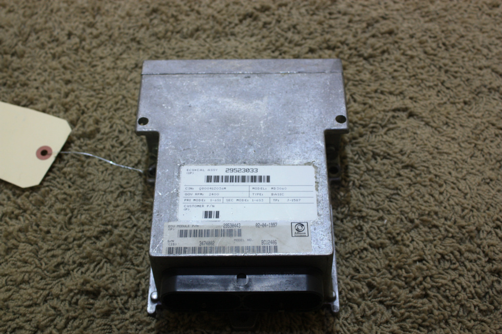 USED RV ALLISON TRANSMISSION ECU 29530443 FOR SALE RV Chassis Parts