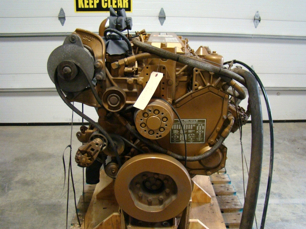 USED CATERPILLAR ENGINE | 3126 7.2L YEAR 1997 300HP FOR SALE -SOLD- RV Chassis Parts