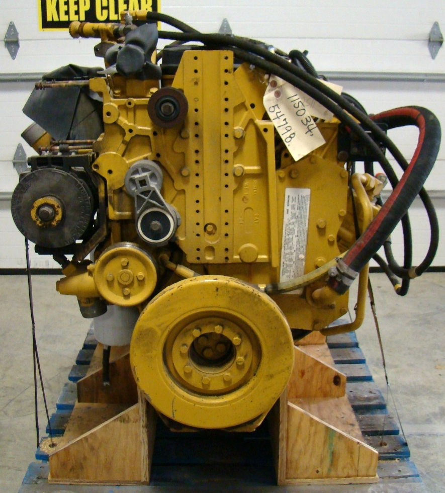 USED CATERPILLAR ENGINE | CAT C9 DIESEL ENGINE YEAR 2005 FOR SALE RV Chassis Parts