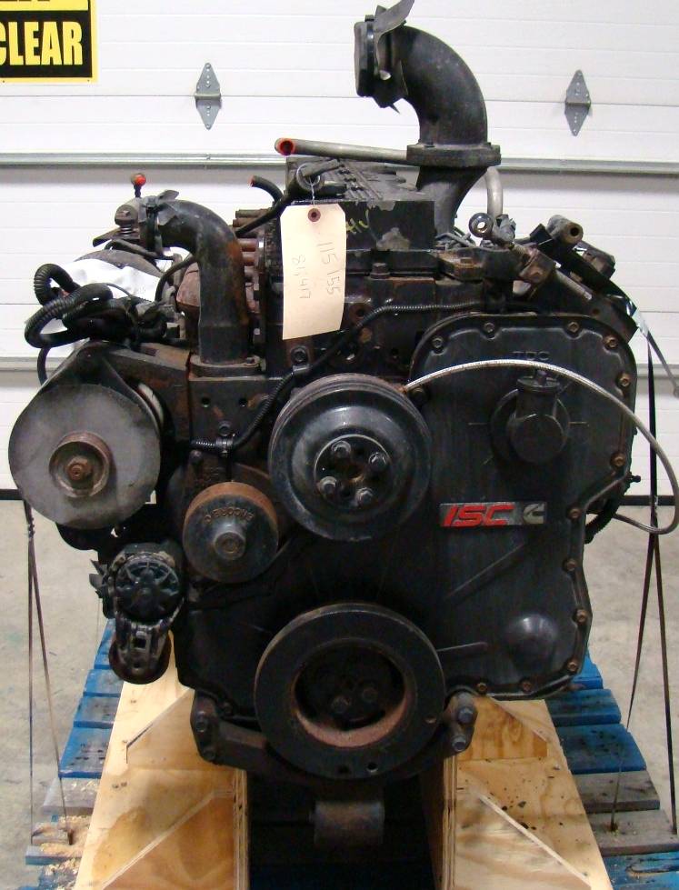 USED CUMMINS DIESEL ENGINE | CUMMINS ISC350 DIESEL ENGINE YEAR 2001 FOR SALE RV Chassis Parts