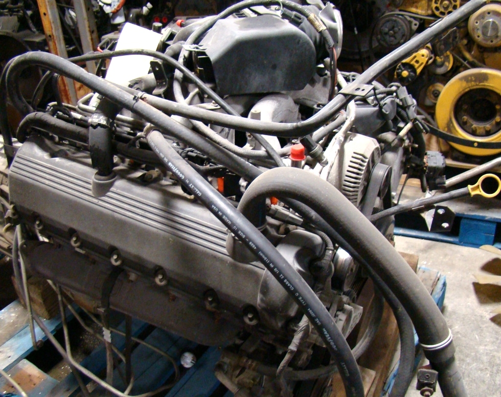 USED FORD V10 TRITON ENGINE YEAR 2002 FOR SALE RV Chassis Parts