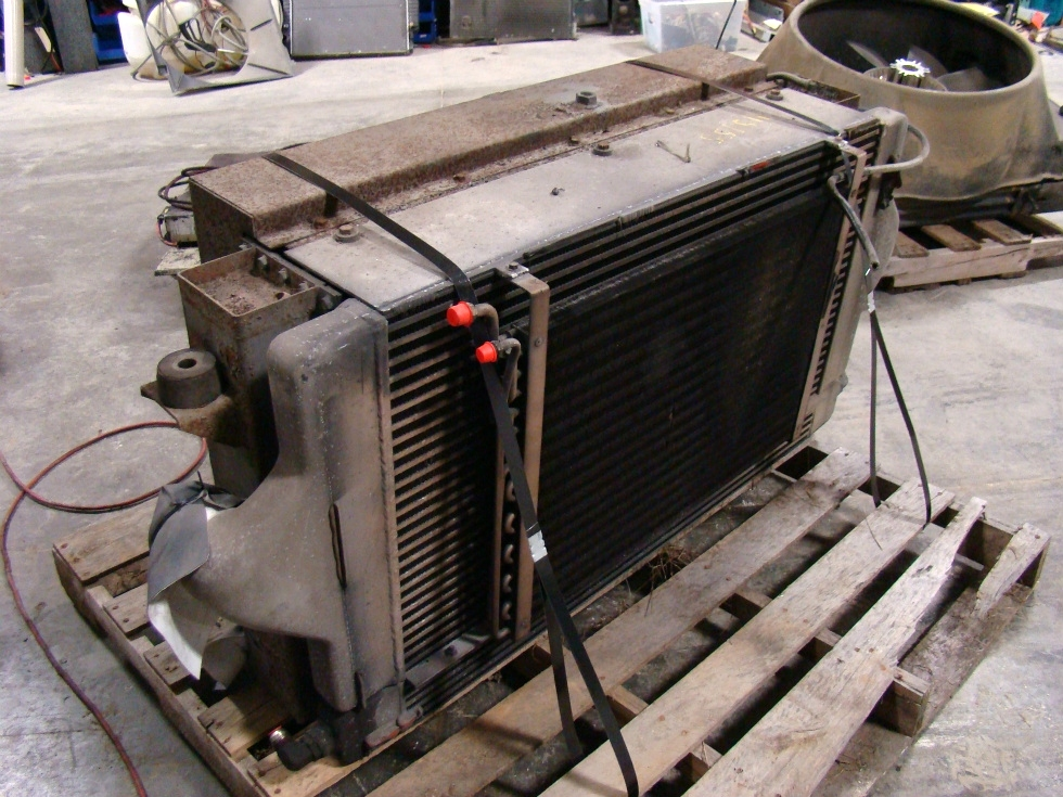 USED 2002 MONACO WINDSOR RADIATOR FOR SALE  RV Chassis Parts