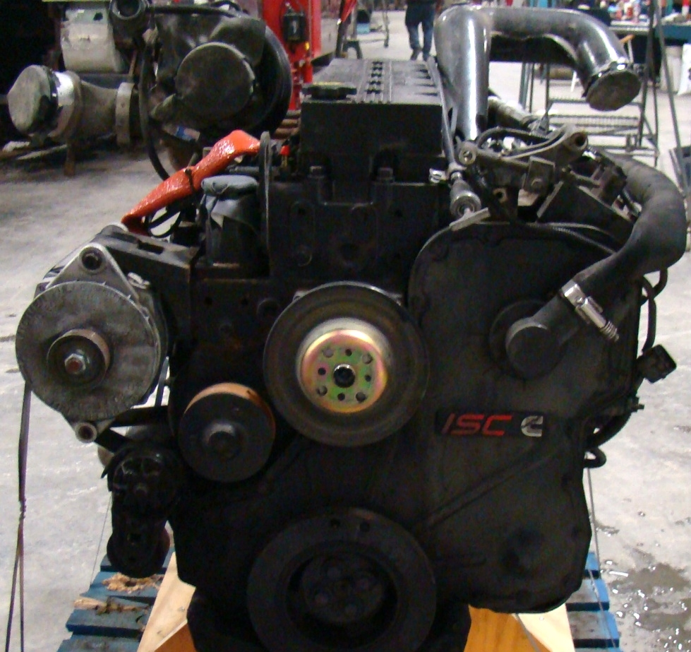 USED CUMMINS ENGINE | ISC330 YEAR 2001 330HP FOR SALE  RV Chassis Parts