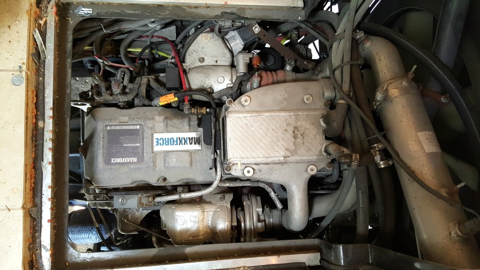 USED 2012 NAVISTAR MAXXFORCE 10 405HP DIESEL ENGINE FOR SALE RV Chassis Parts