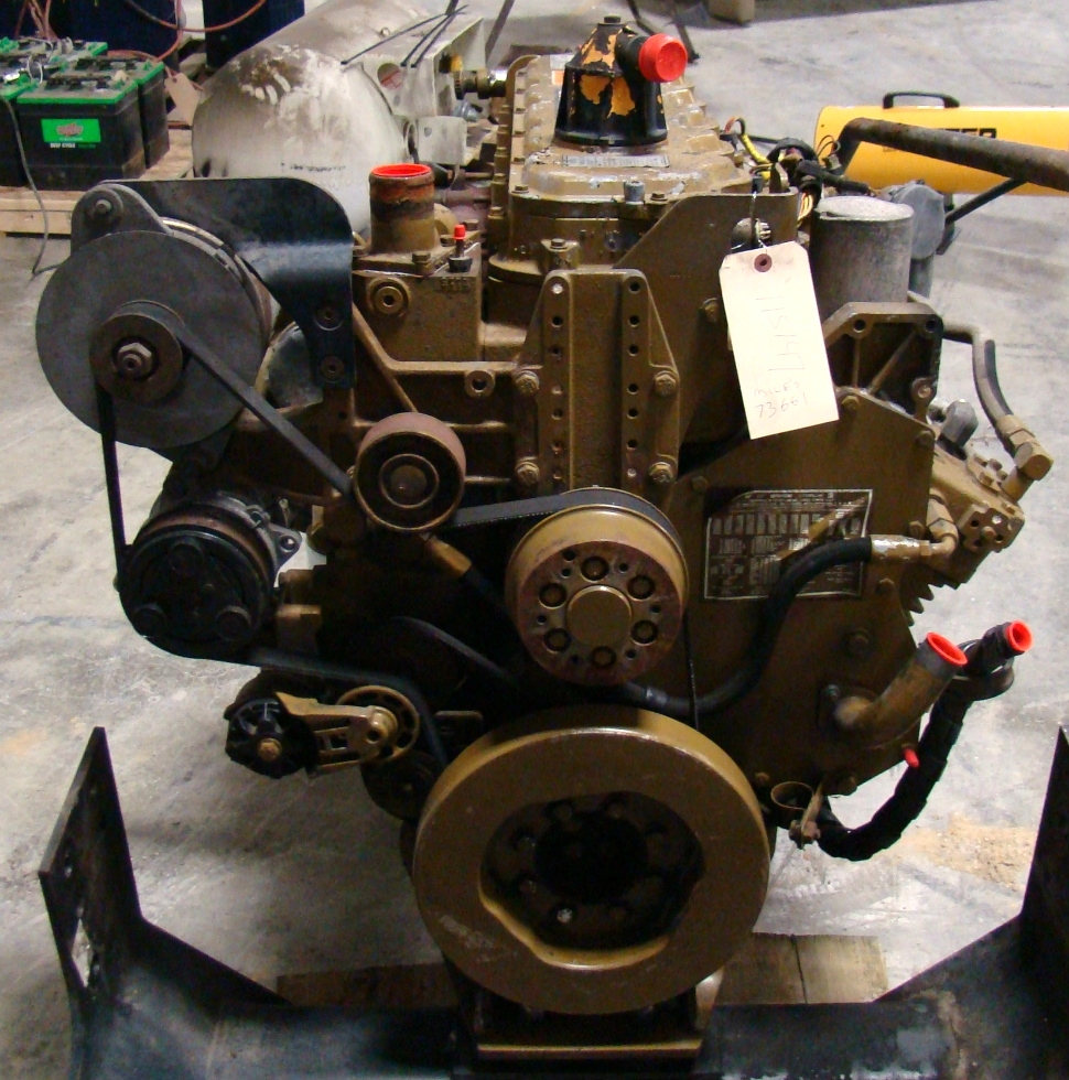 USED CATERPILLAR ENGINE | 1998 CAT 3126 FOR SALE  RV Chassis Parts