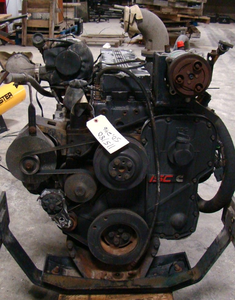 USED CUMMINS ENGINE | ISC330 YEAR 1999 330HP FOR SALE  RV Chassis Parts