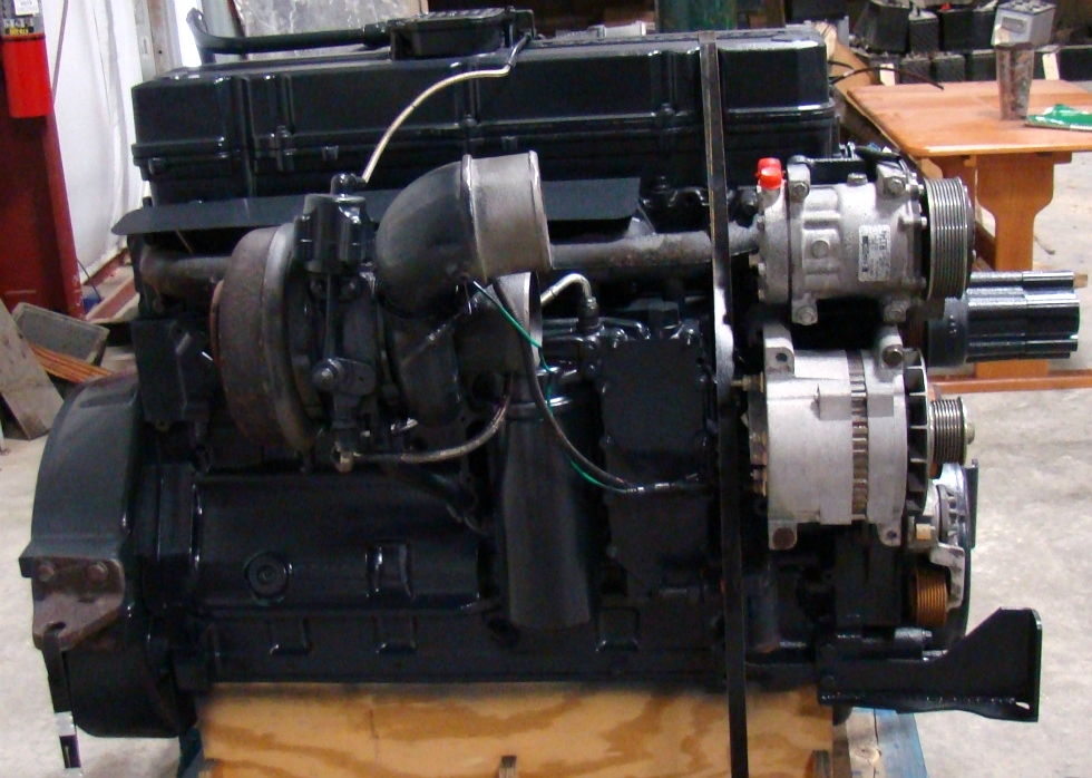USED CUMMINS ENGINE | FOR SALE COMMON RAIL 8.8L 2004 LOW MILES RV Chassis Parts