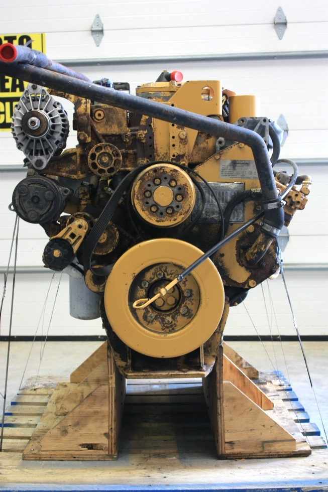 USED CATERPILLAR ENGINE | CAT 3126 7.2L YEAR 2000 330HP 94,338 MILES FOR SALE  RV Chassis Parts