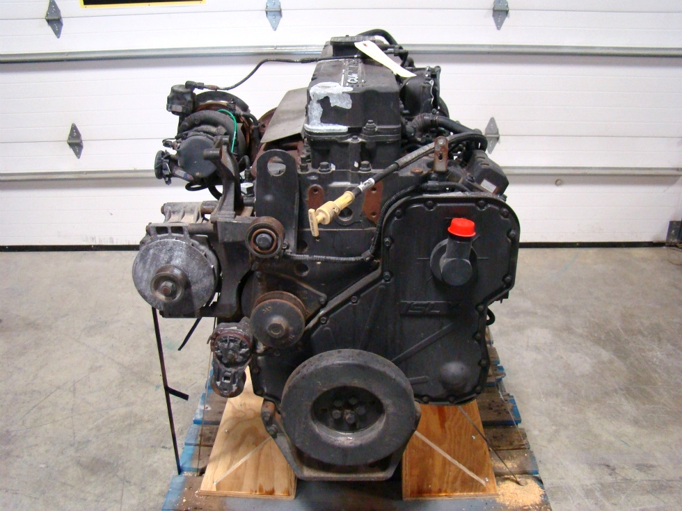 CUMMINS DIESEL ENGINE | 2004 8.8L ISL400 FOR SALE - 25,650 MILES  RV Chassis Parts