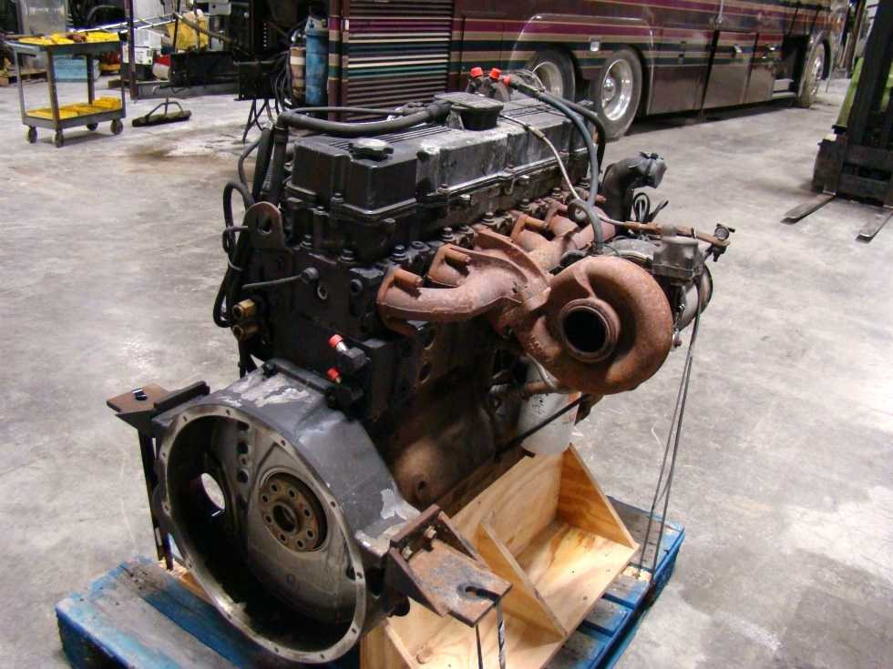 USED CUMMINS DIESEL | 8.8L ISL400 FOR SALE - 62,000 MILES RV Chassis Parts