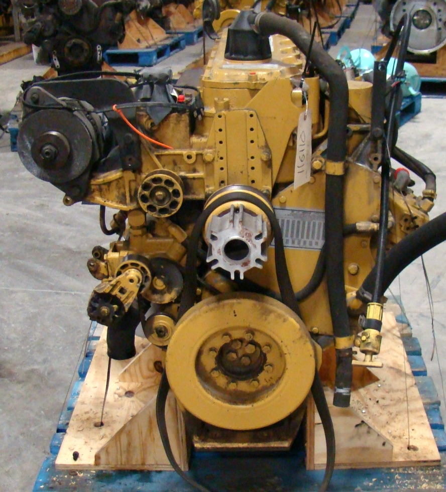 USED CATERPILLAR ENGINE | CAT 3126 7.2L YEAR 2001 330HP 52,000 MILES FOR SALE  RV Chassis Parts