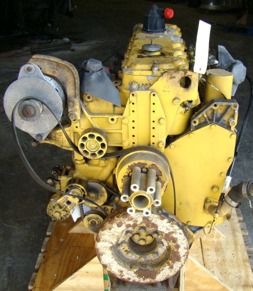USED CATERPILLAR ENGINE | CAT 3126 7.2L YEAR 1998 300HP 42,000 MILES FOR SALE  RV Chassis Parts