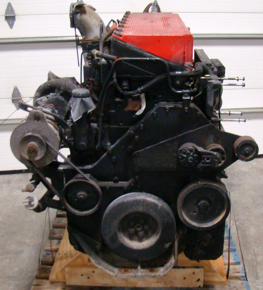 USED CUMMINS DIESEL MOTOR | CUMMINS DIESEL ISM450  450HP YEAR 2002 FOR SALE  RV Chassis Parts