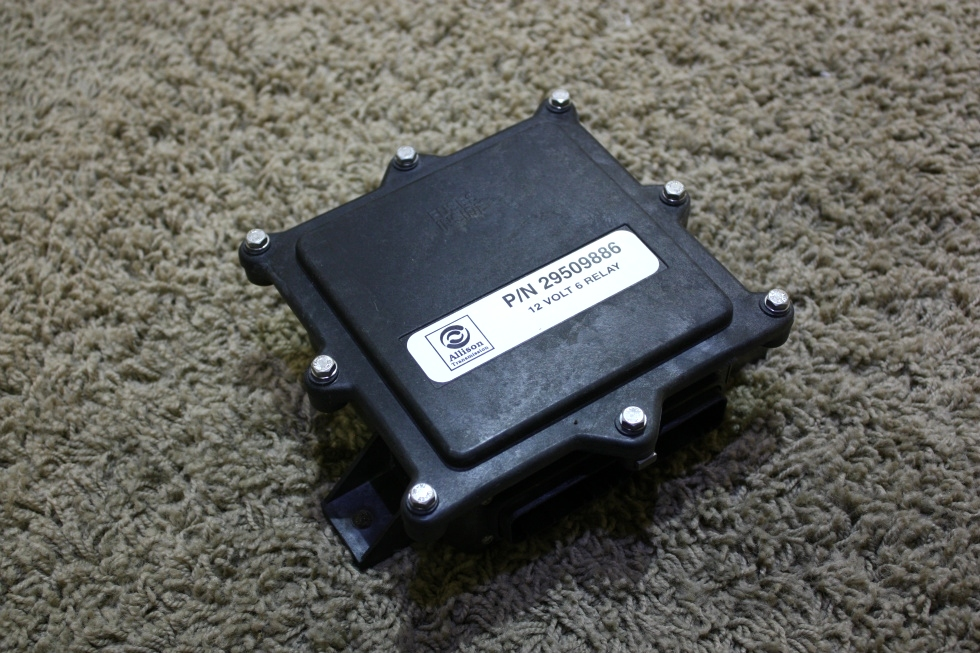 USED ALLISON TRANSMISSION 29509886 12 VOLT 6 RELAY RV PARTS FOR SALE RV Chassis Parts