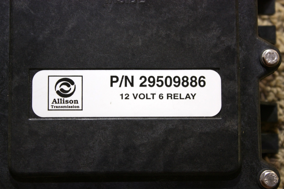 USED RV ALLISON TRANSMISSION 29509886 12 VOLT 6 RELAY MODULE FOR SALE RV Chassis Parts