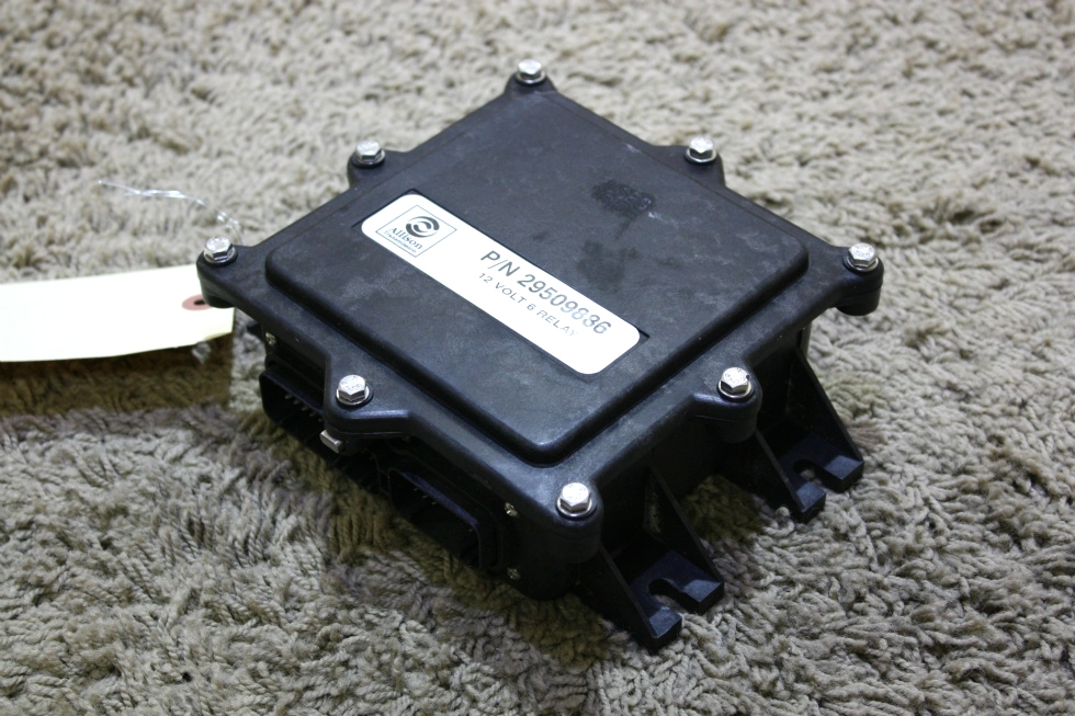 USED MOTORHOME 29509886 ALLISON TRANSMISSION 12V 6 RELAY MODULE FOR SALE RV Chassis Parts