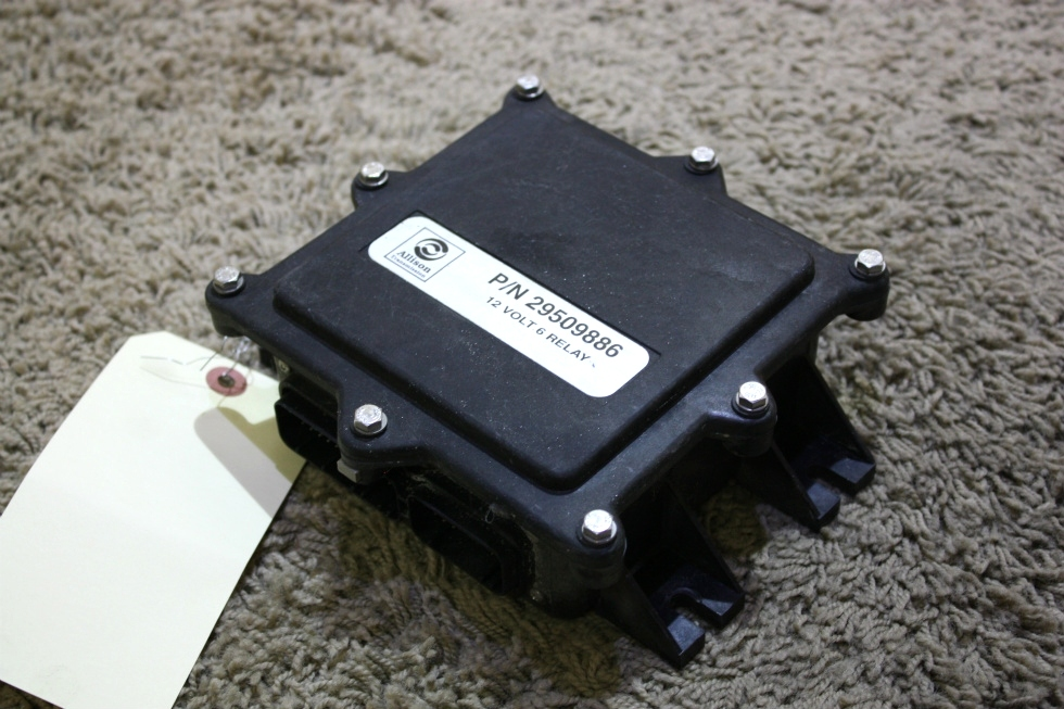 USED ALLISON TRANSMISSION 12 VOLT 6 RELAY 29509886 MOTORHOME PARTS FOR SALE RV Chassis Parts