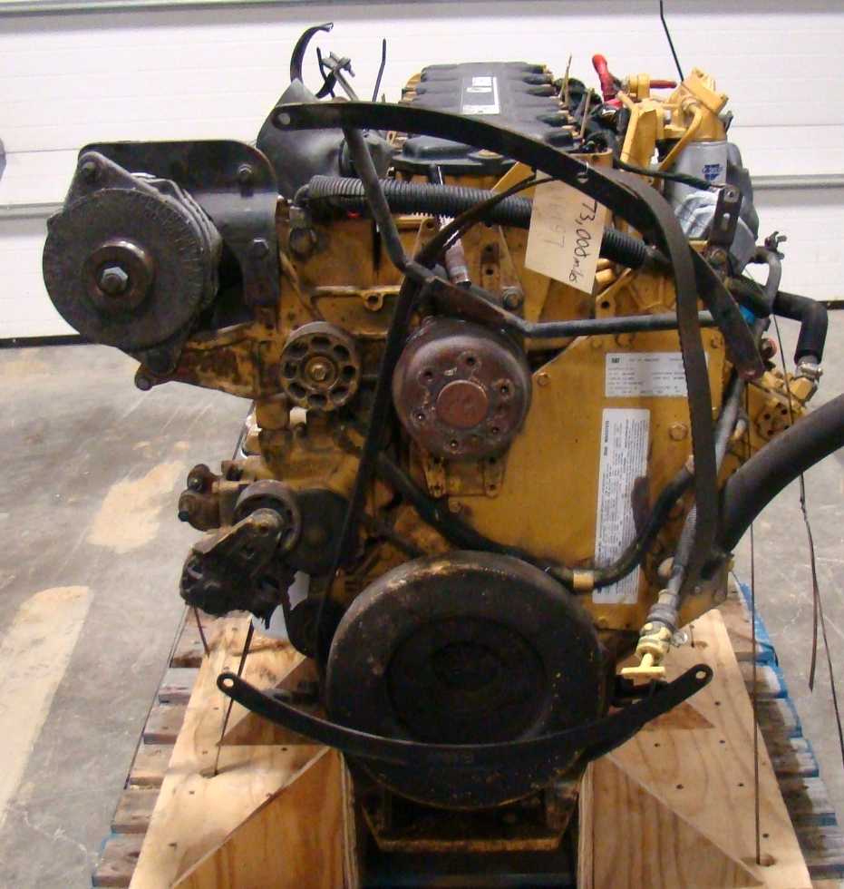 CATERPILLAR DIESEL ENGINE | CAT 350HP C7 7.2L FOR SALE  RV Chassis Parts