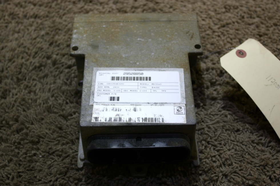 USED MOTORHOME ALLISON TRANSMISSION 29530443 ECU FOR SALE RV Chassis Parts