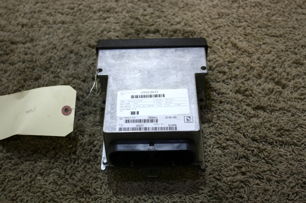 USED ALLISON TRANSMISSION ECU 29530443 RV PARTS FOR SALE RV Chassis Parts