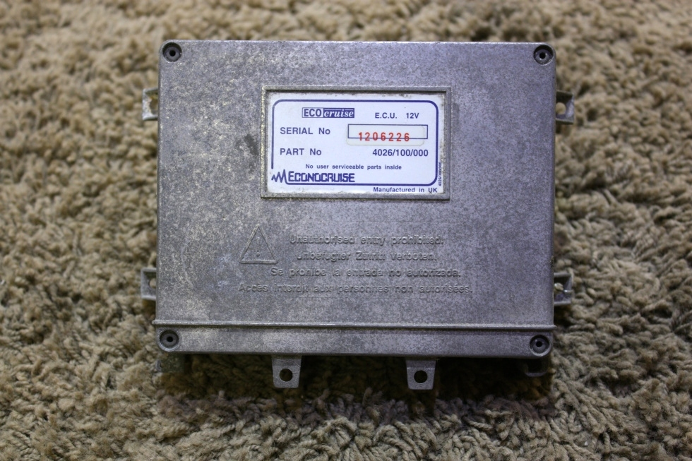 USED RV ECO CRUISE ECU 4026/100/000 FOR SALE RV Chassis Parts