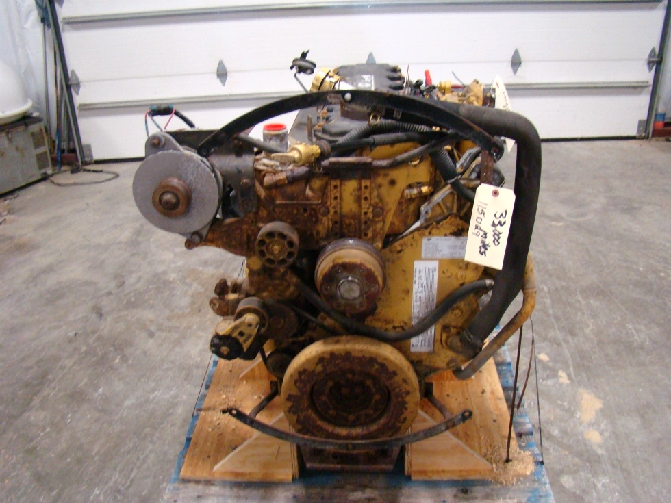 CATERPILLAR DIESEL ENGINE | CAT 300HP C7 7.2L 2004 FOR SALE  RV Chassis Parts