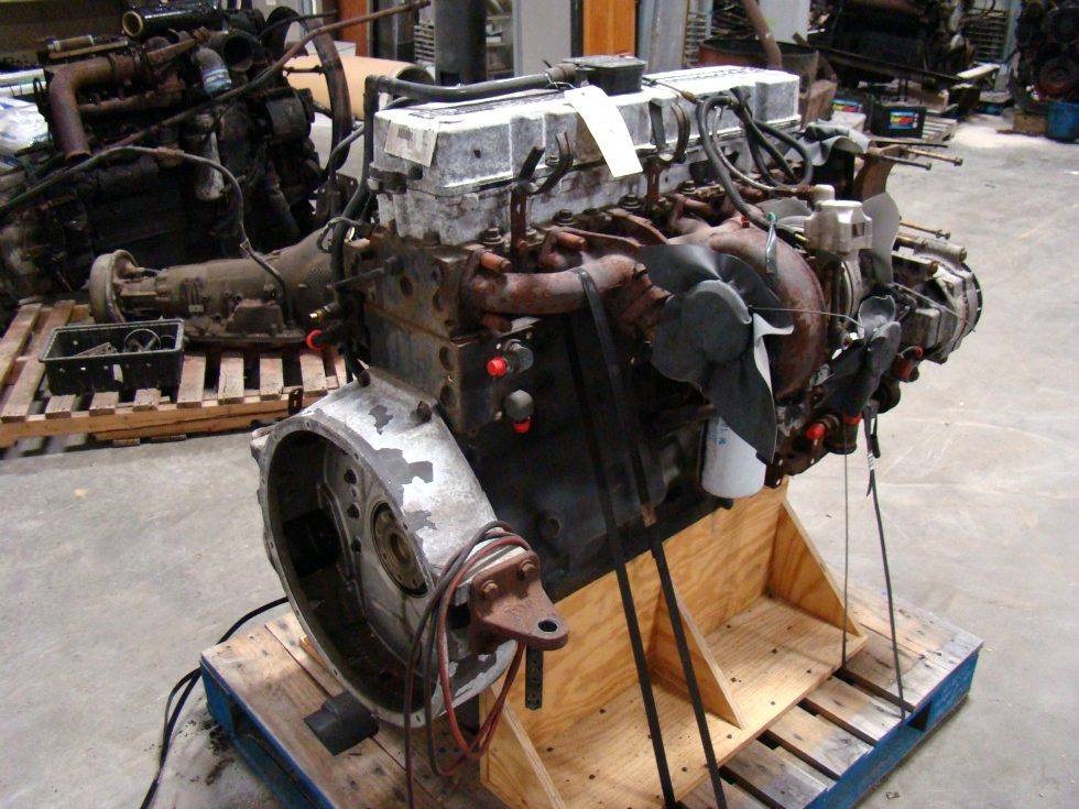 USED CUMMINS DIESEL   8.8L ISL400 COMMON RAIL FOR SALE RV Chassis Parts