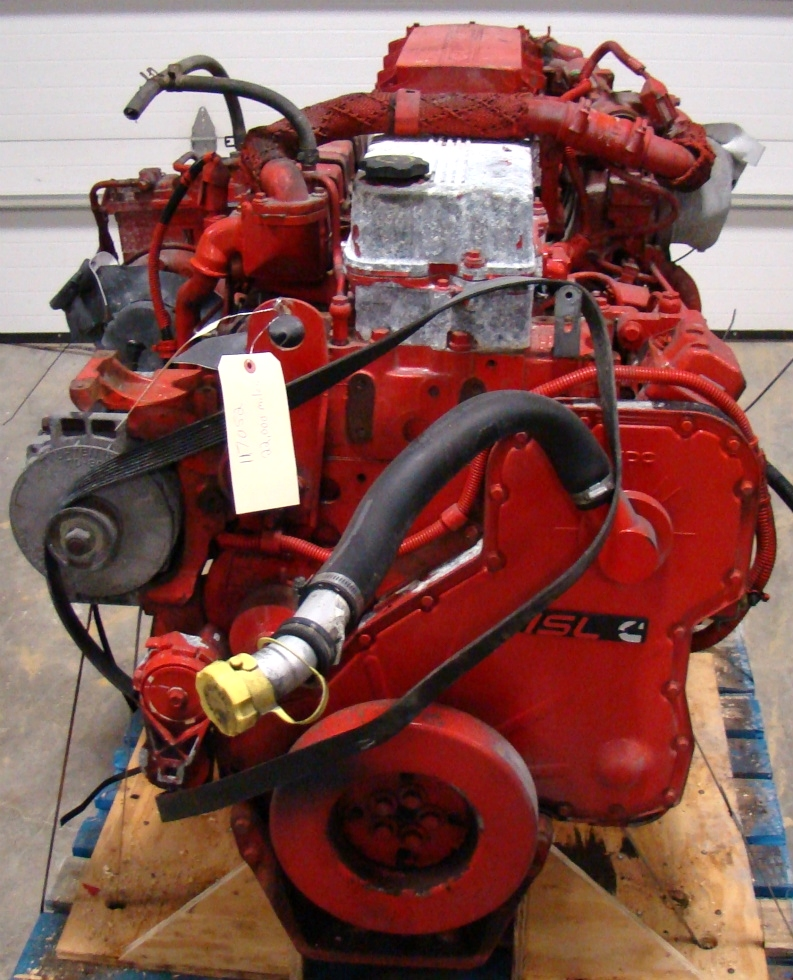USED CUMMINS DIESEL MOTOR | CUMMINS DIESEL ENGINE FOR SALE 8.9L ISL425 2007 RV Chassis Parts