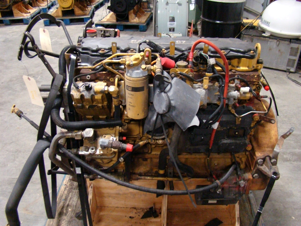 USED CATERPILLAR C7 ENGINE FOR SALE 2004 7.2L LOW MILES RV Chassis Parts