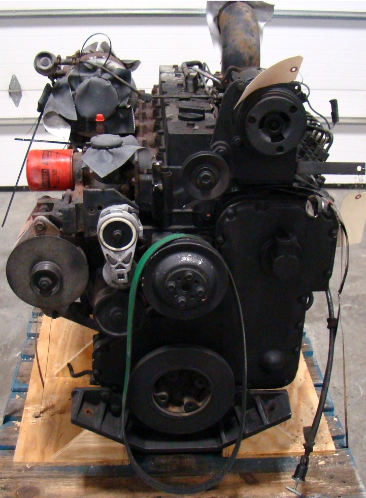 USED CUMMINS ENGINE   C8.3-BUS 300HP DIESEL ENGINE FOR SALE  RV Chassis Parts