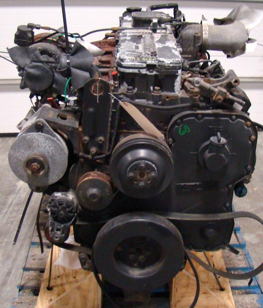 USED CUMMINS DIESEL MOTOR | CUMMINS DIESEL ENGINE FOR SALE 8.9L ISL400 2006 RV Chassis Parts