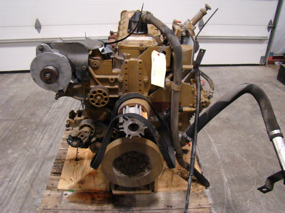 USED CATERPILLAR ENGINE | 3126 7.2L YEAR 1999 330HP FOR SALE  RV Chassis Parts