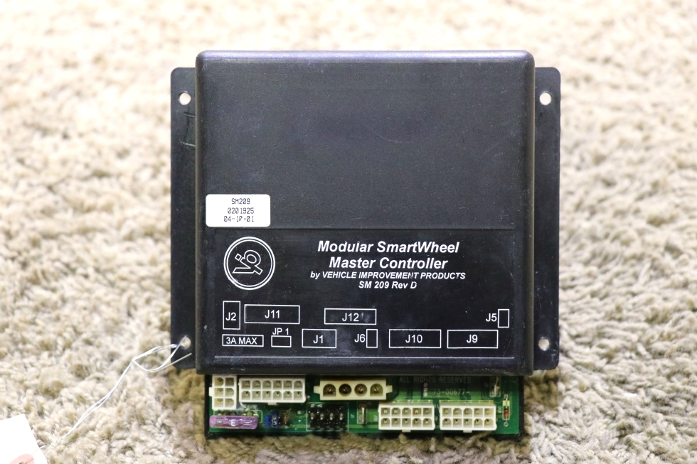 USED SM209 MODULAR SMARTWHEEL MASTER CONTROLLER BY V.I.P RV PARTS FOR SALE RV Chassis Parts