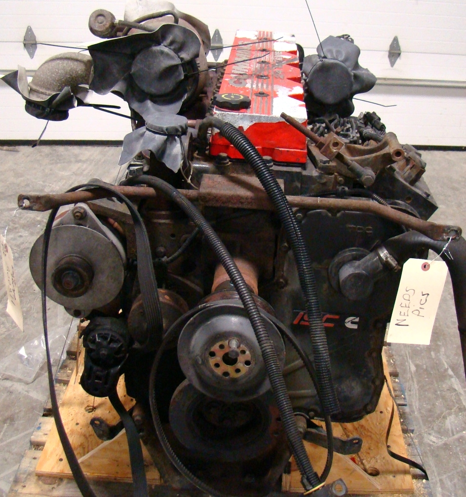 CUMMINS DIESEL ENGINE | CUMMINS ISC350 62,000 MILES 8.3L 350HP FOR SALE  RV Chassis Parts