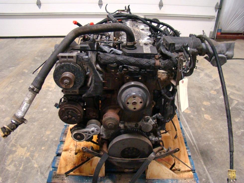 USED CUMMINS DIESEL ENGINE FOR SALE | 2002 CUMMINS ISB 5.9 300HP DIESEL ENGINE FOR SALE  RV Chassis Parts
