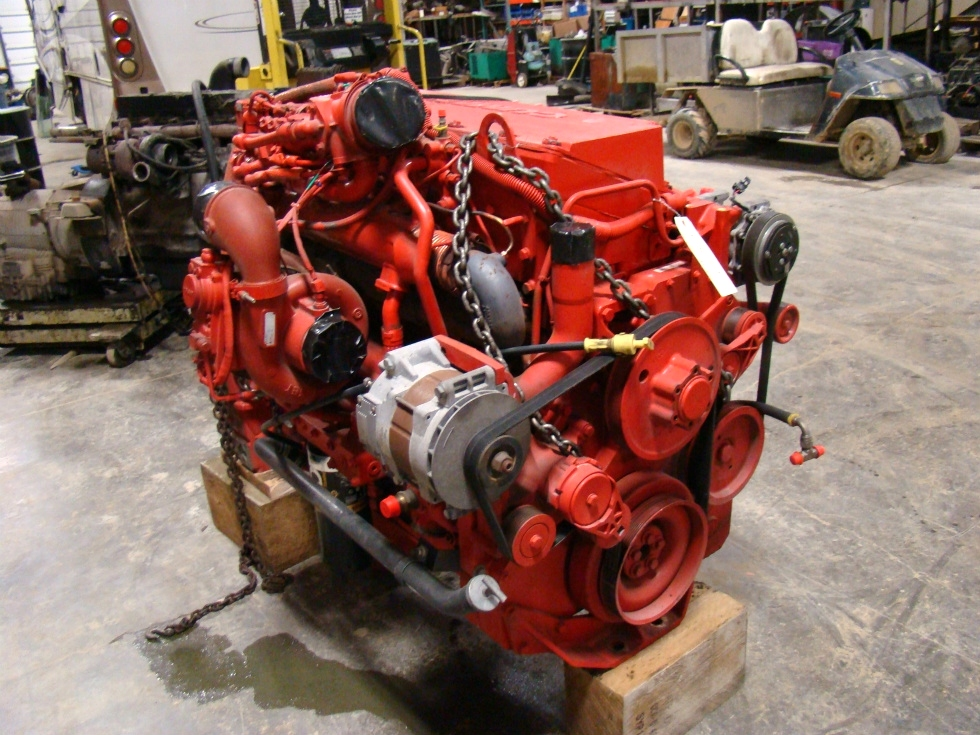 USED CUMMINS ENGINES FOR SALE | 2008 CUMMINS DIESEL ISM 500 FOR SALE RV Chassis Parts