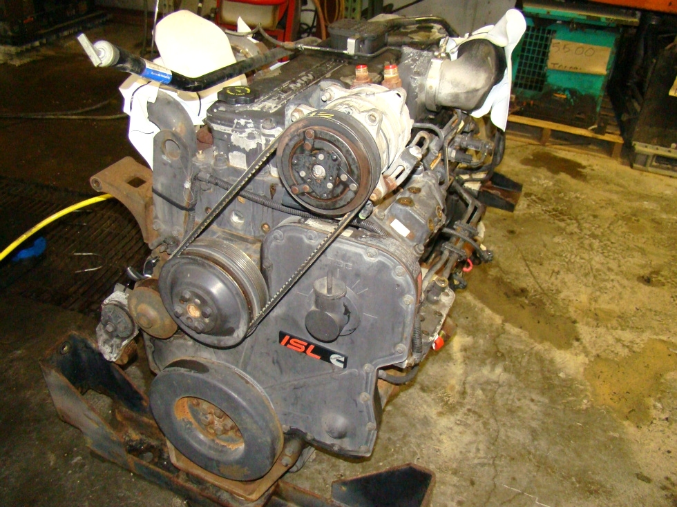 USED CUMMINS DIESEL | 8.8L ISL370 FOR SALE - 51,000 MILES RV Chassis Parts