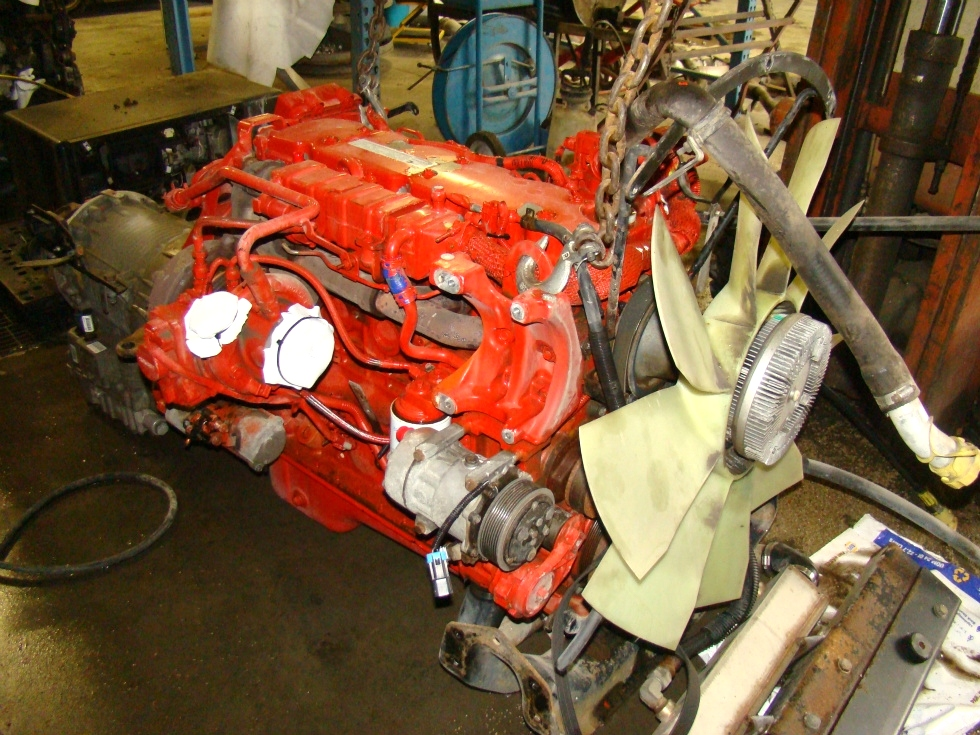 USED CUMMINS ENGINES FOR SALE  | CUMMINS 6.7L ISB350 REAR DRIVE YEAR 2007 FOR SALE RV Chassis Parts