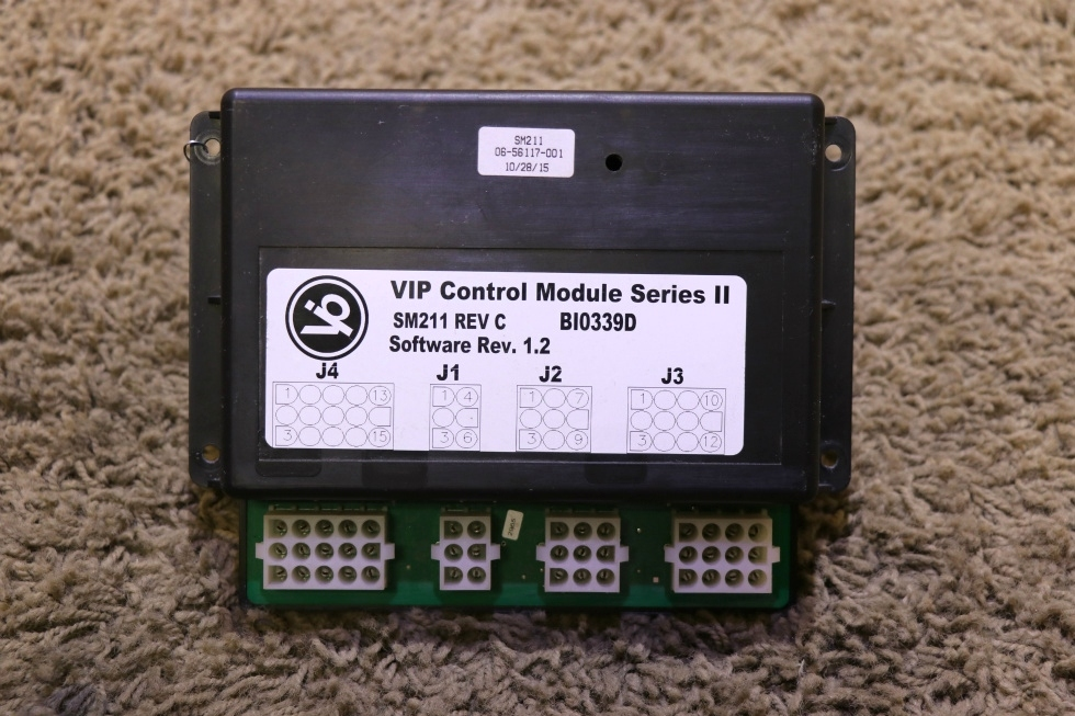 USED MOTORHOME VIP SM211 CONTROL MODULE SERIES II FOR SALE RV Chassis Parts