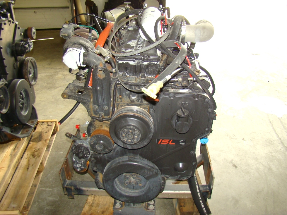 USED CUMMINS DIESEL | 2006 8.9L ISL400 COMMON RAIL FOR SALE RV Chassis Parts