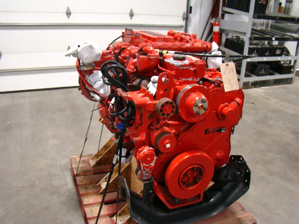 CUMMINS DIESEL ENGINE | CUMMINS ISC380 8.3L 380HP FOR SALE - 15,000 MILES RV Chassis Parts
