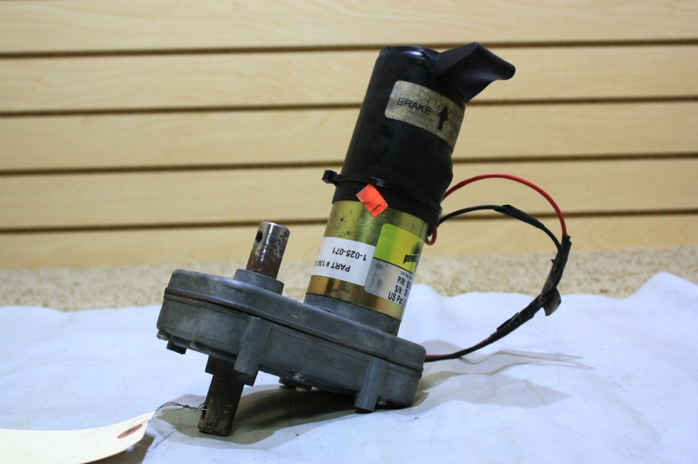 USED POWER GEAR SLIDE OUT MOTOR 523983 FOR SALE RV Components