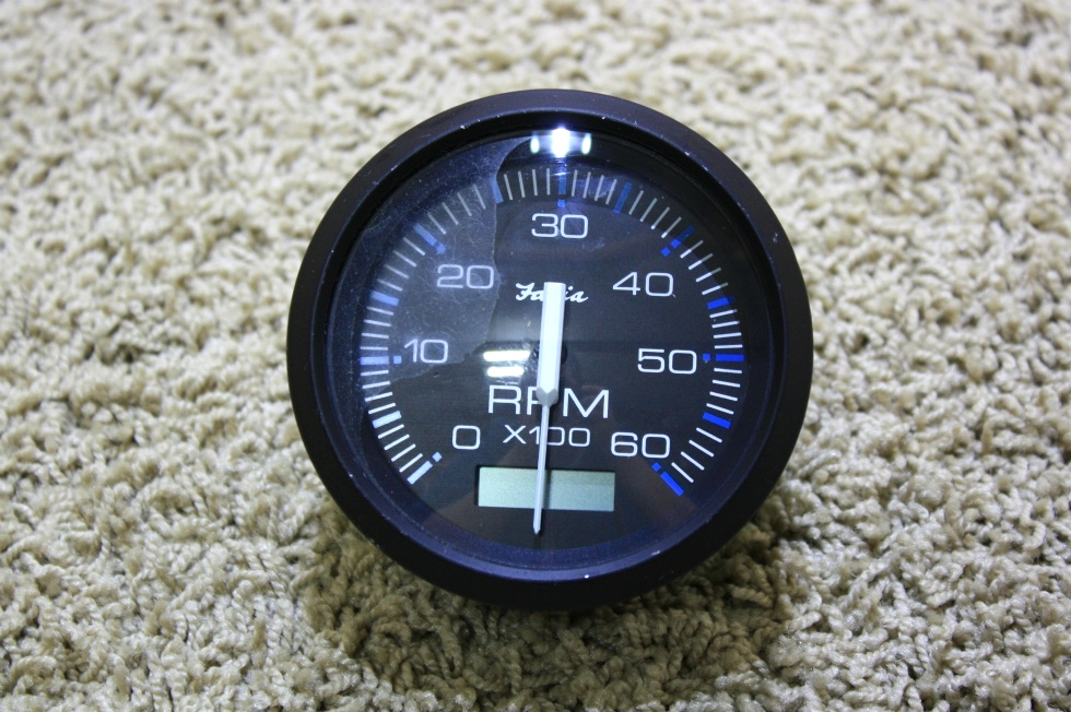 USED FARIA TACHOMETER DASH GAUGE TC9137D FOR SALE RV Components